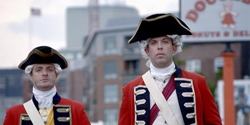 The MLS New England Revolution Battles Redcoats For Fans In New Ad Campaign