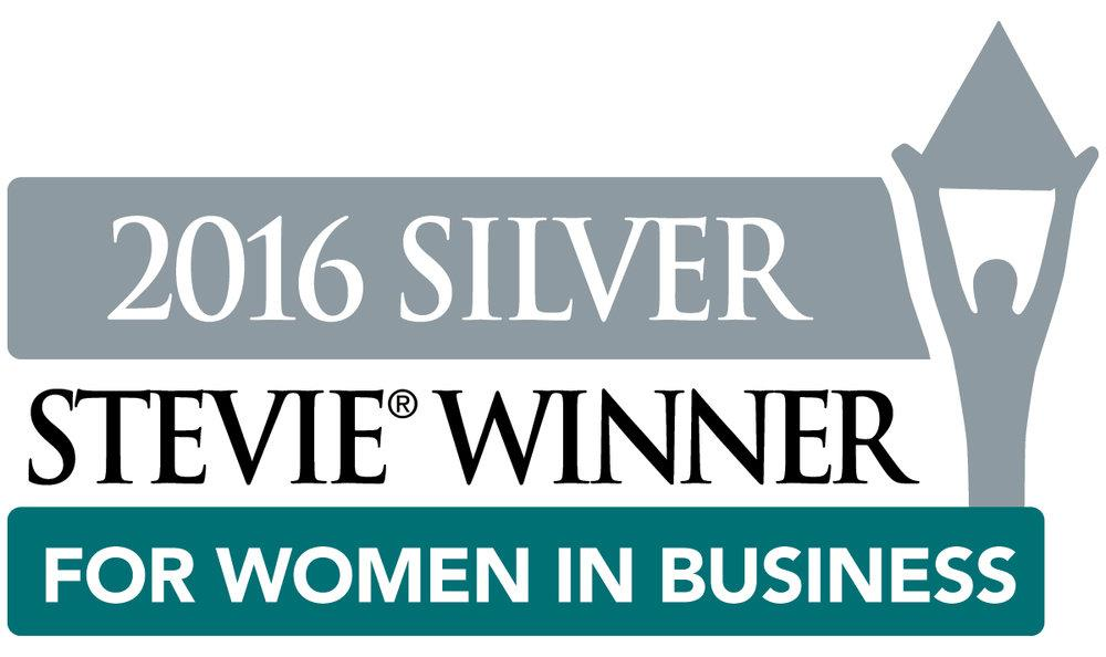 Julie Batliner Wins Two Silver Stevie® Awards in 2016 Stevie Awards for Women in Business