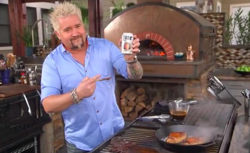Miller Lite Grillin' with Guy