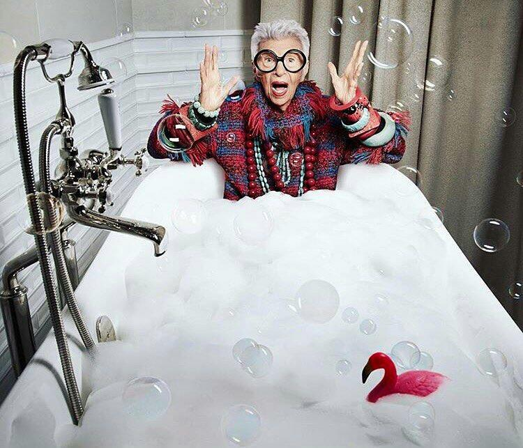 Iris Apfel Among Tastemakers for PIRCH Campaign
