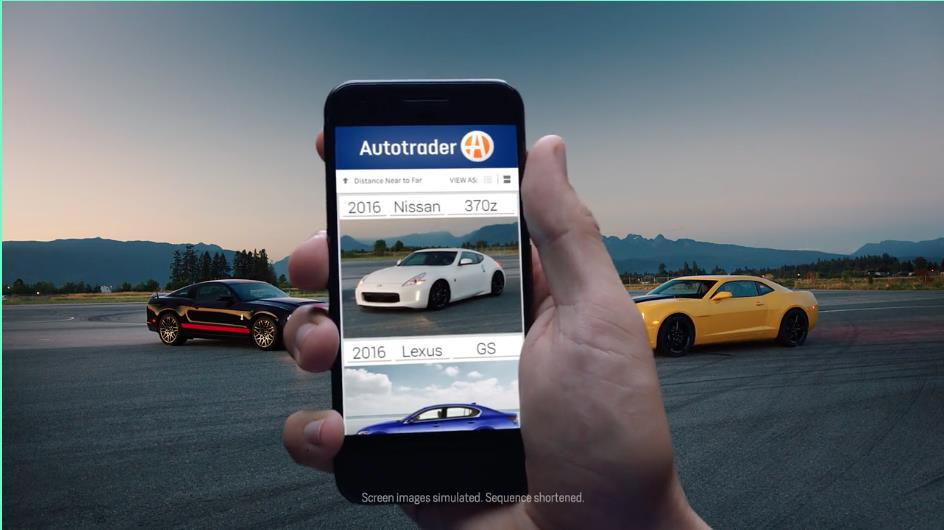 "Autotrader ""Shop All The Cars"""