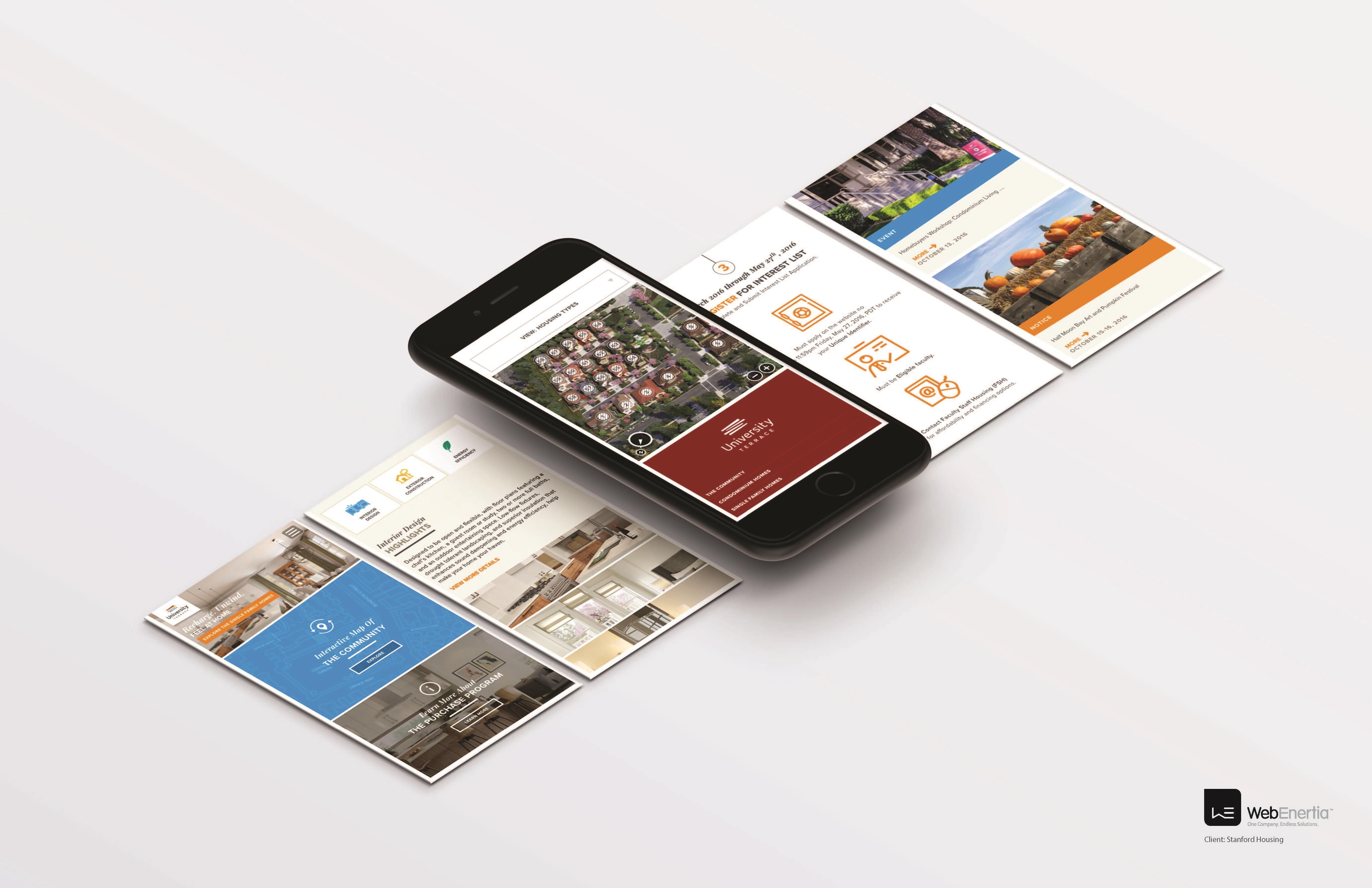 University Terrace CMS Website Design