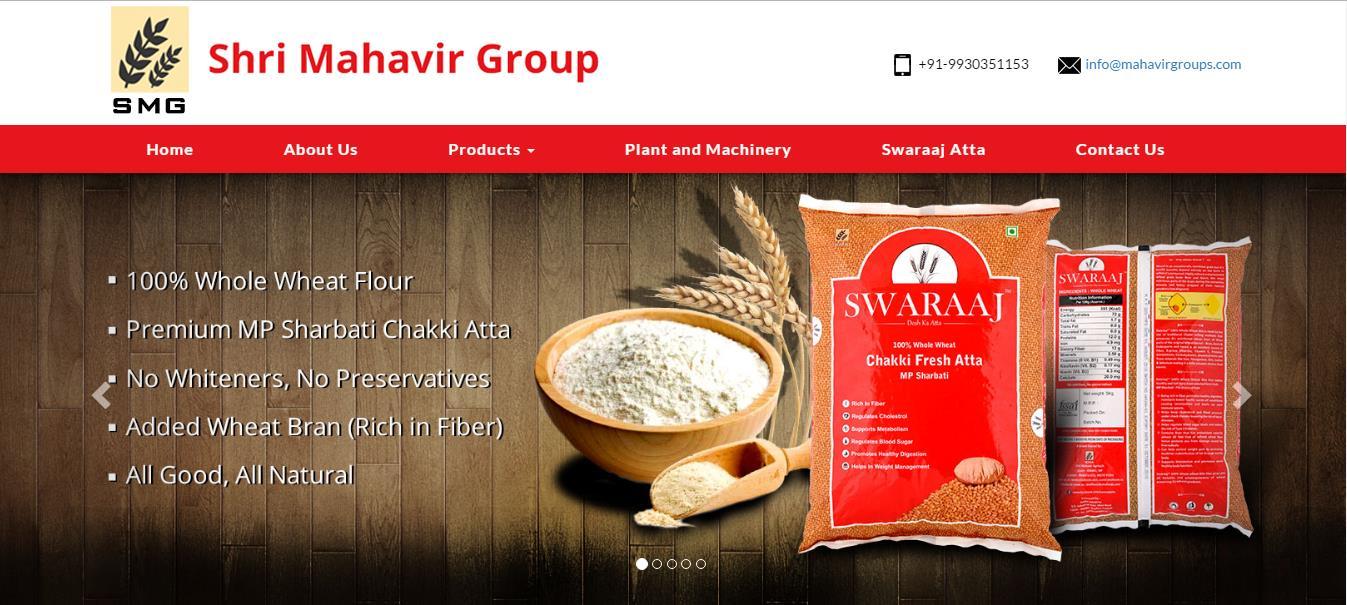 Website Designing Project - Mahavirgroups.com