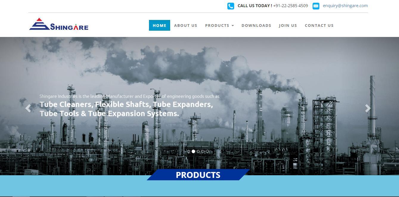 Website Designing Project - Shingare.com