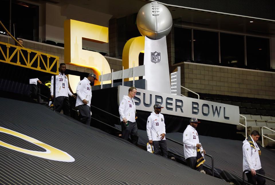 Not Advertising in The Super Bowl... McBrilliant