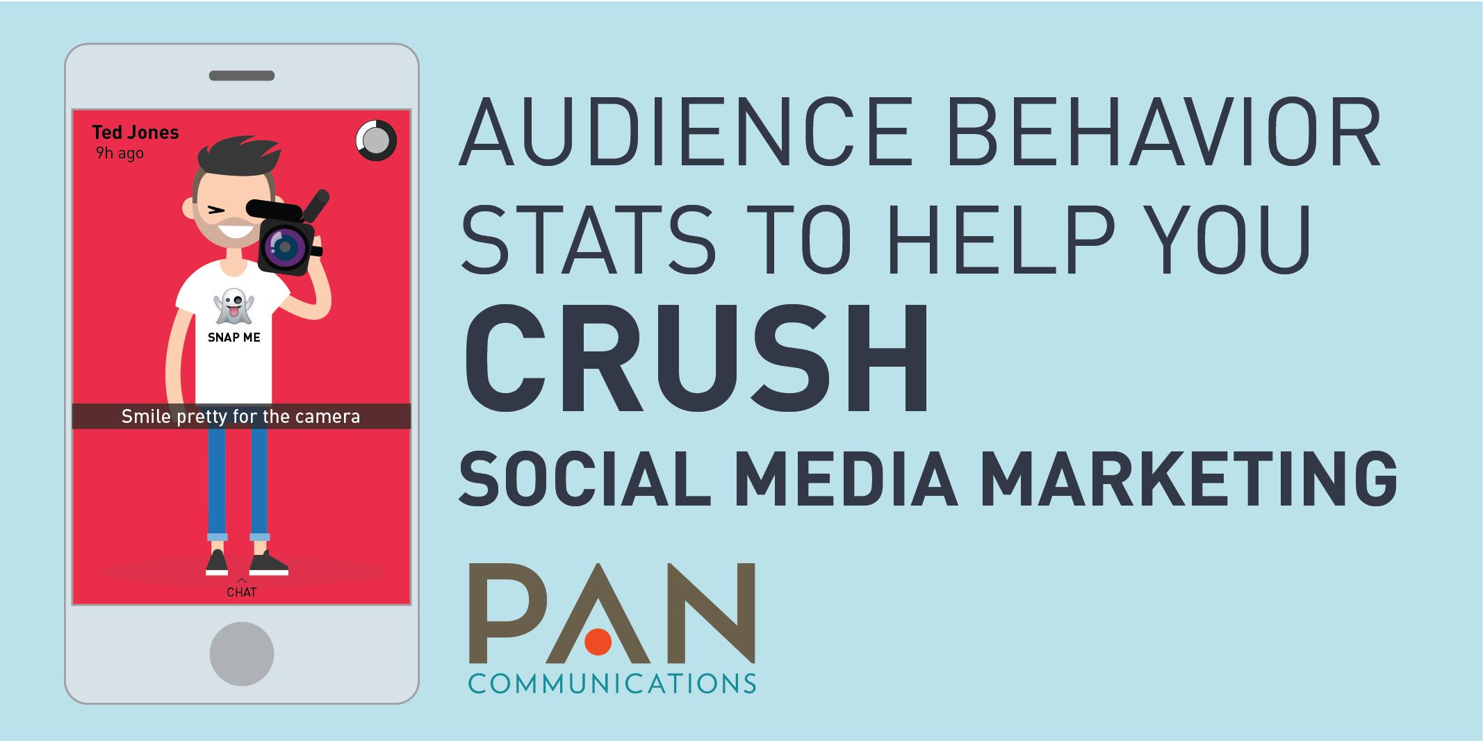 Audience Behavior Stats to Help You Crush Social Media Marketing