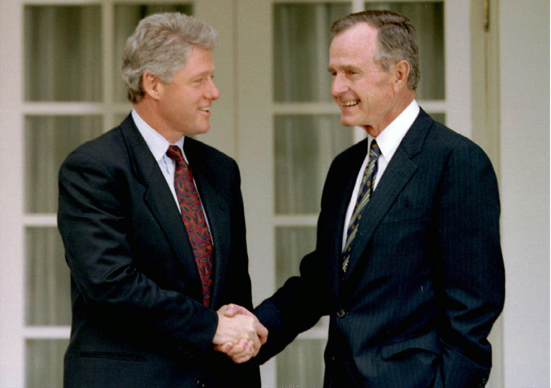 Planning for Presidents - Hosting Former Presidents Bush and Clinton