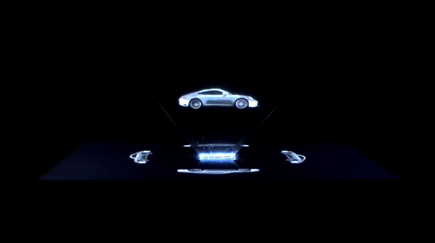 "C-K / Porsche - ""Hologram"" case"