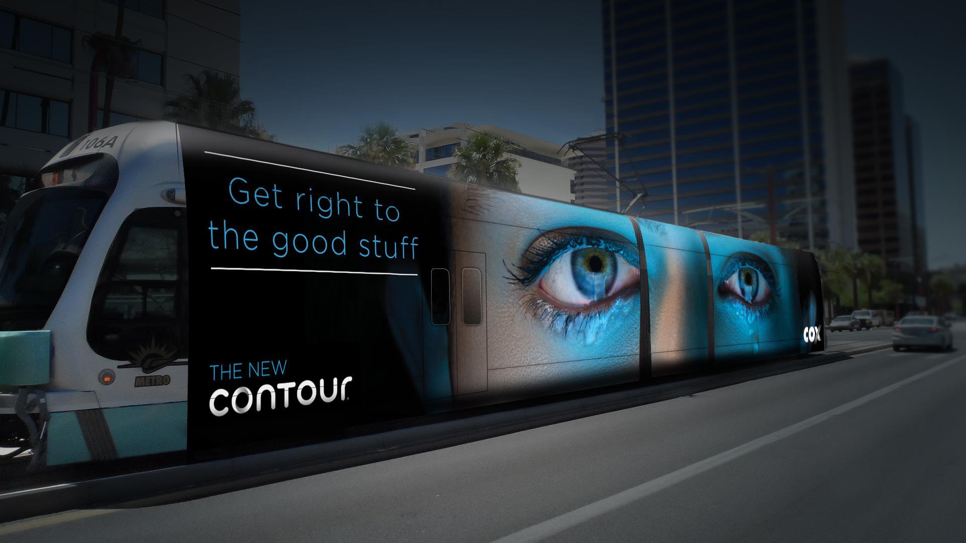 Contour Train Wrap