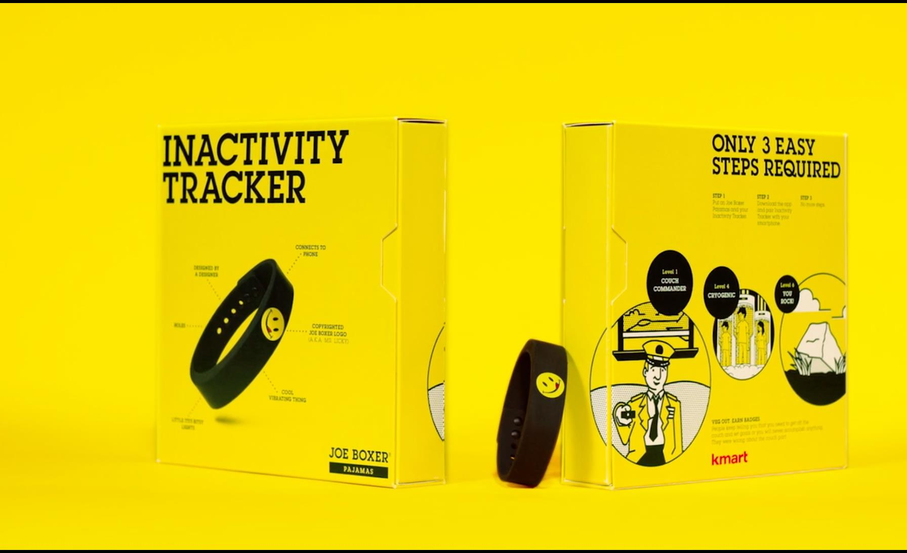 Joe Boxer Inactivity Tracker Case Study