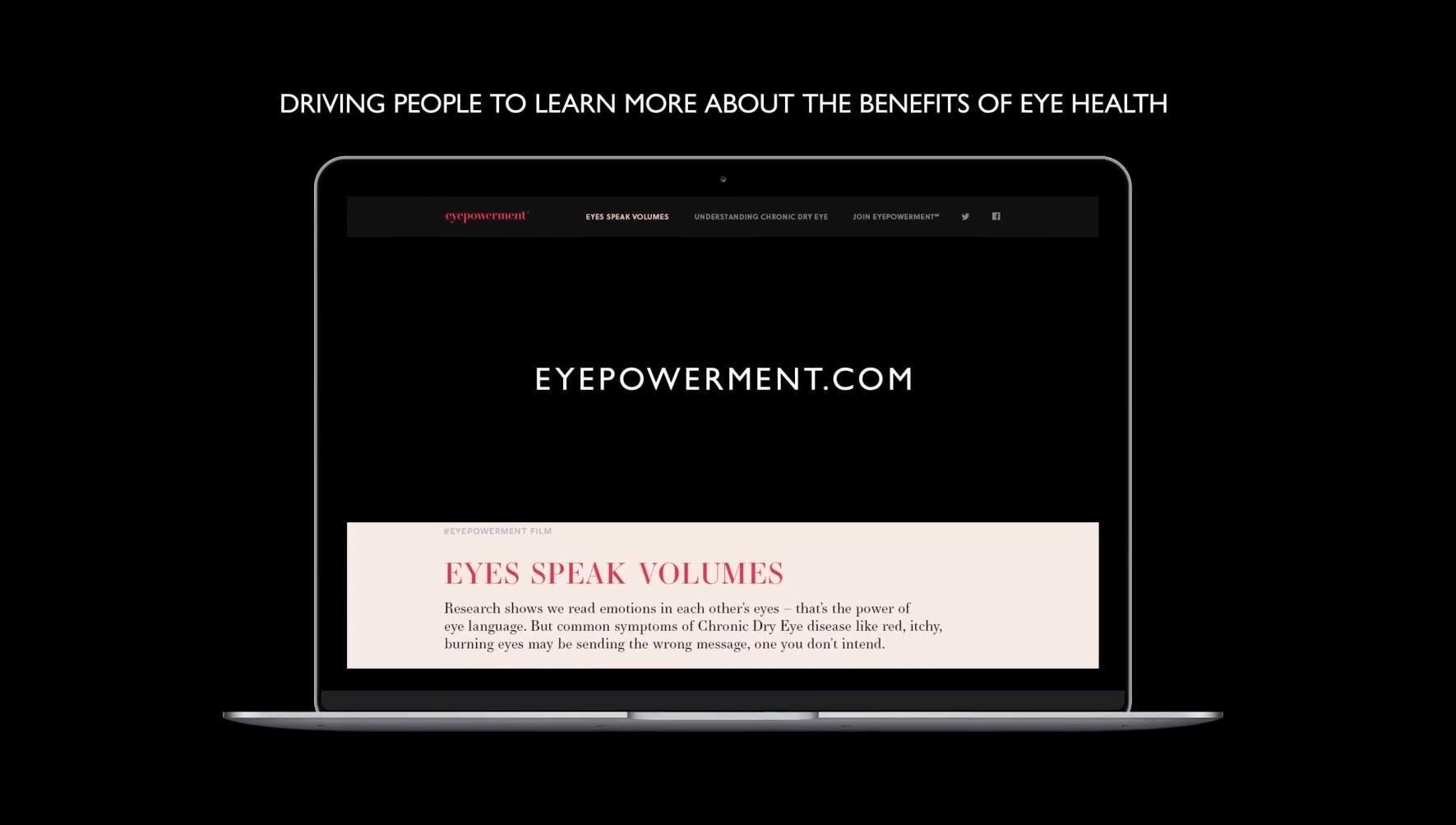 Allergan Eyepowerment Case Study