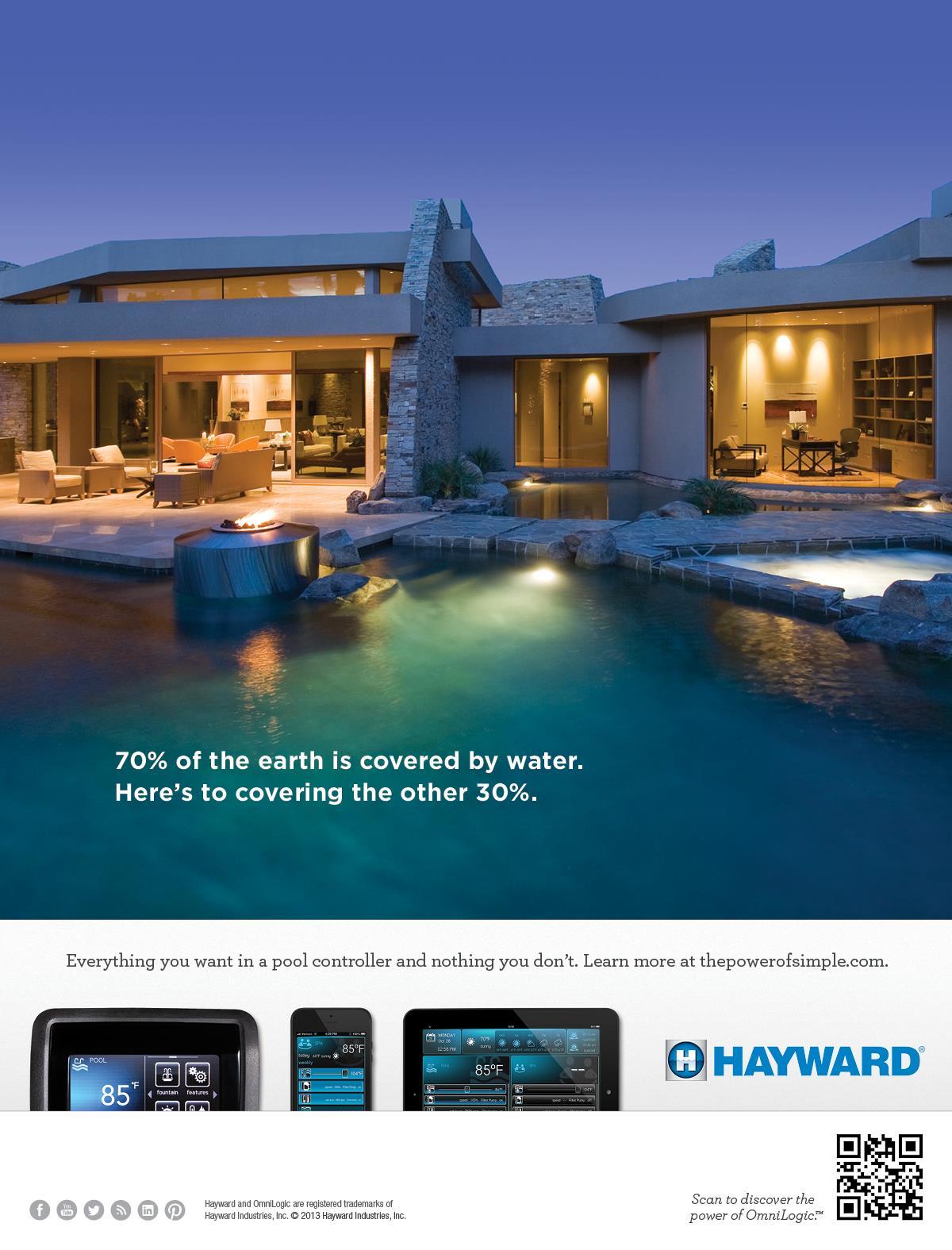 "Hayward Print ""70% of the Earth"""