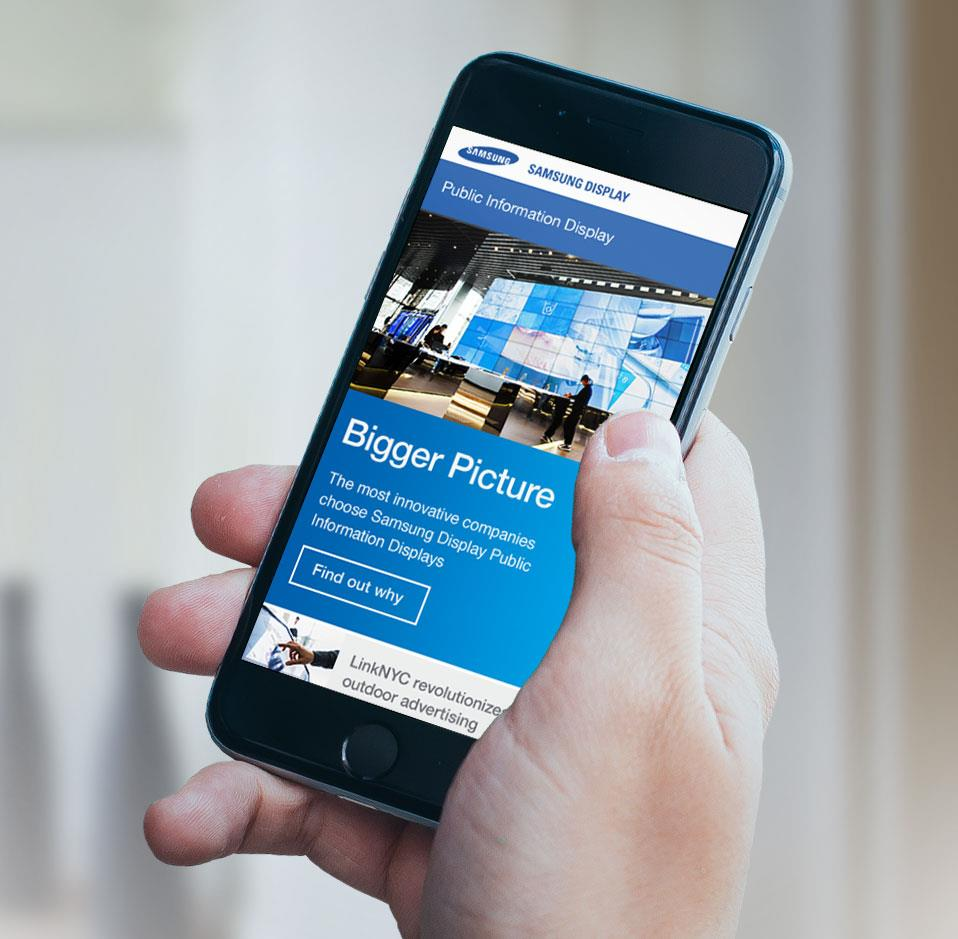 Samsung Display + Jellyfish launch B2B digital marketing platform for growth