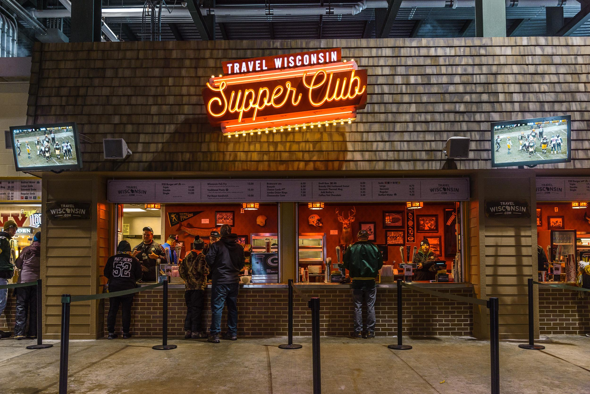 Supper Club at Lambeau Field