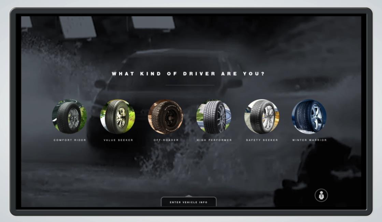 Sears Tire Auto Selector