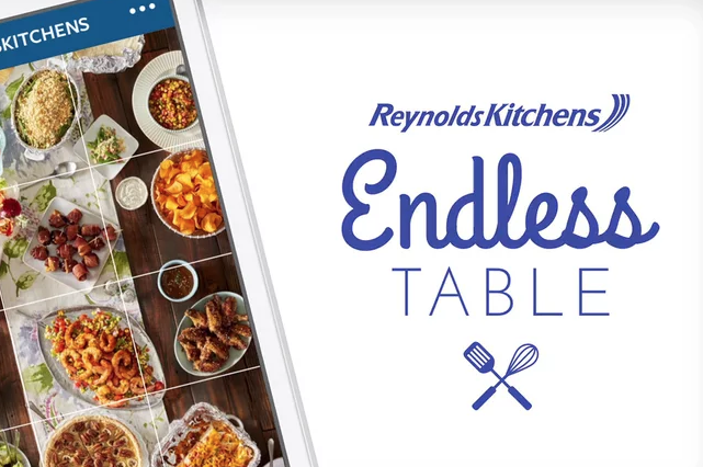 "Reynolds Kitchens, ""Endless Table"""