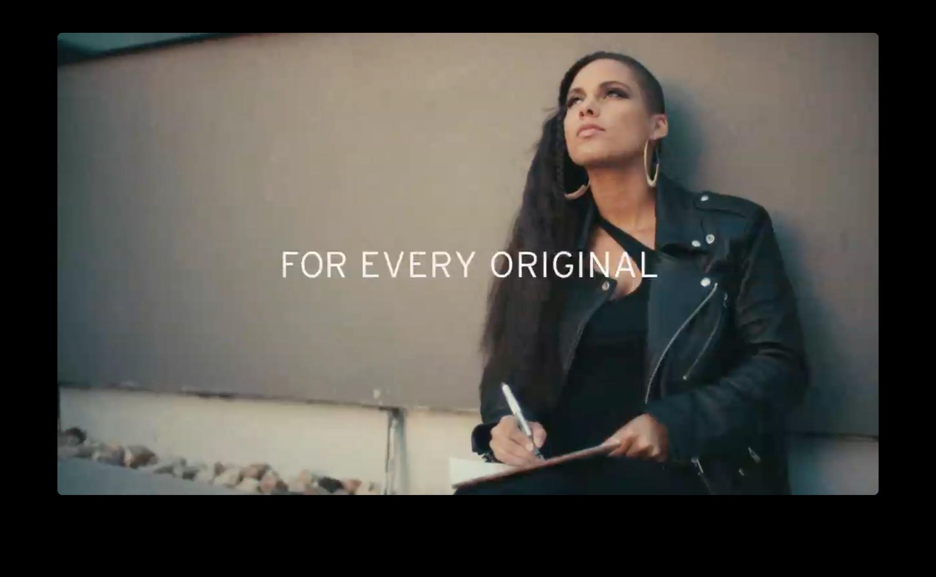 Levi's - Alicia Keys