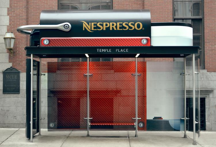 Larger-Than-Life Nespresso Machines
