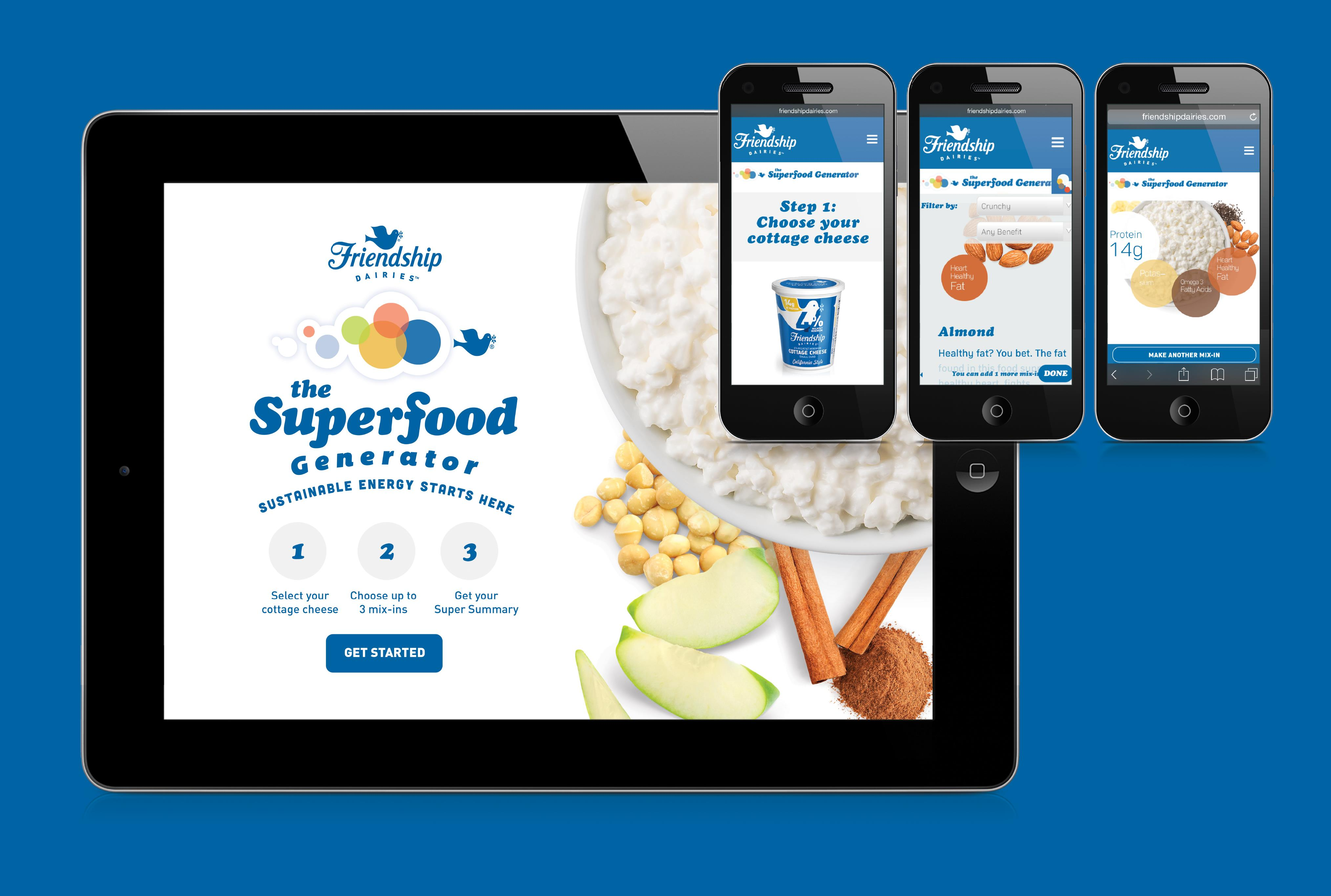 "Friendship Dairies ""Superfood Generator"""