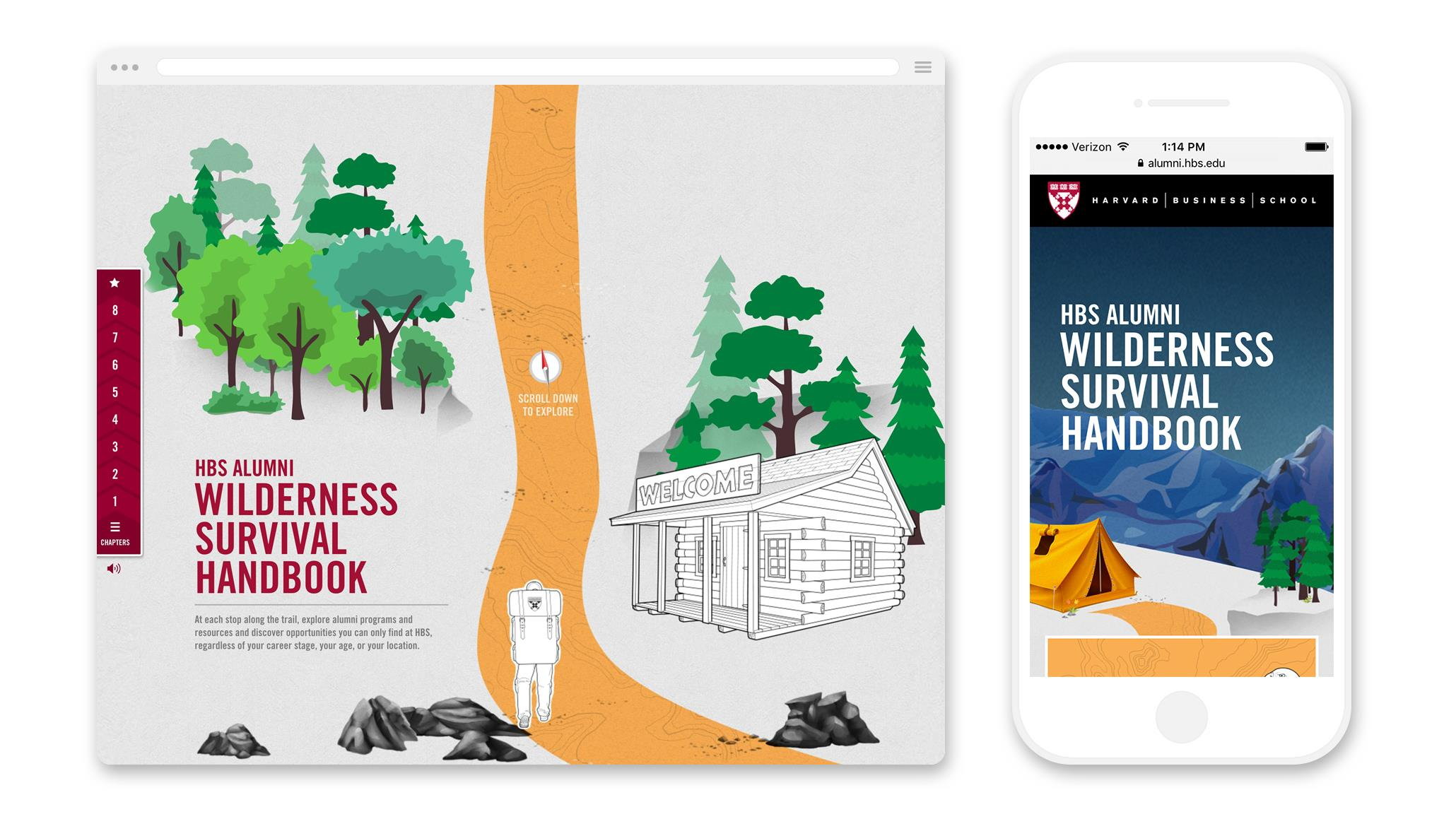 Harvard Business School: Alumni Wilderness Survival Handbook