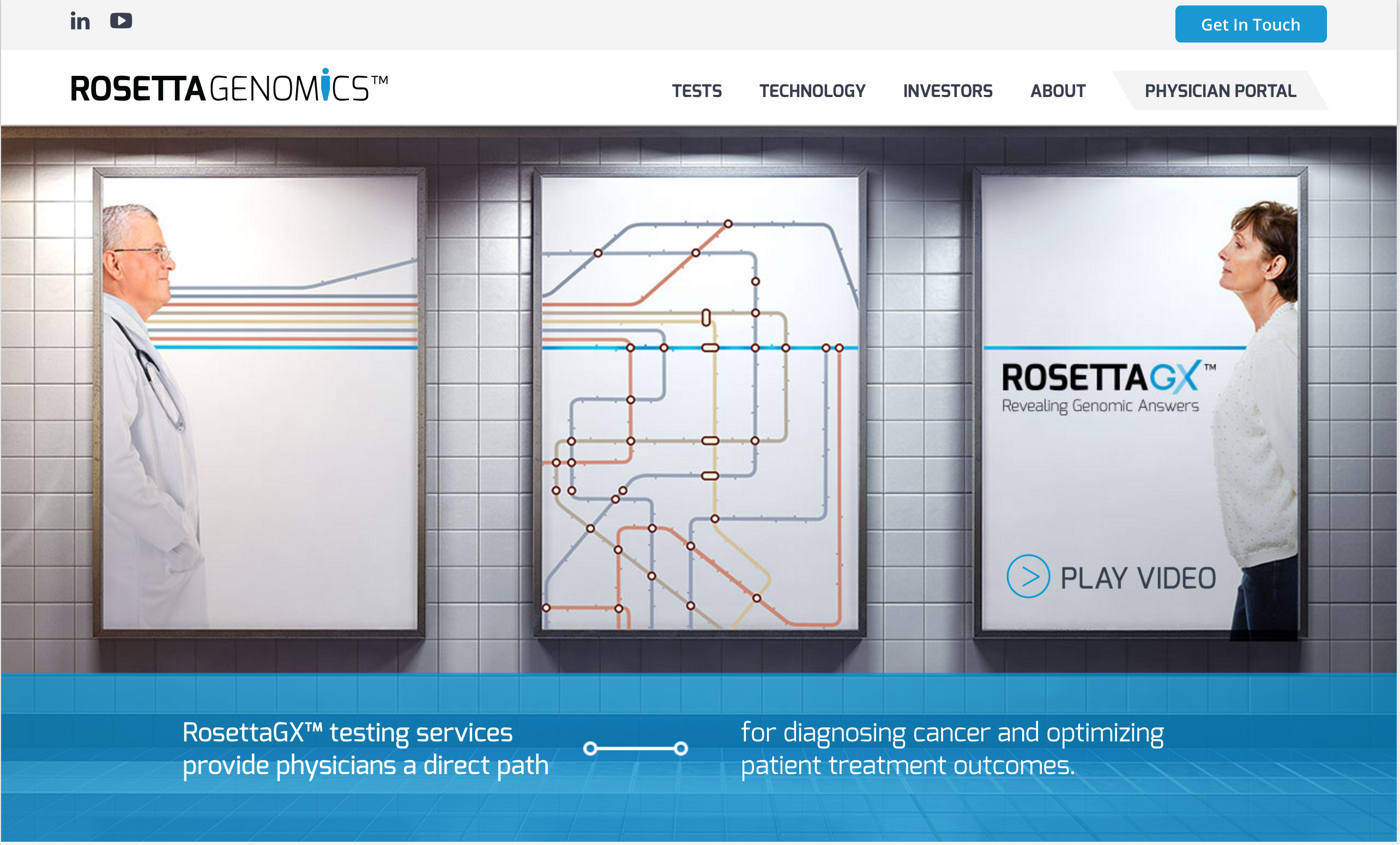 Rosetta Genomics Re-Branding
