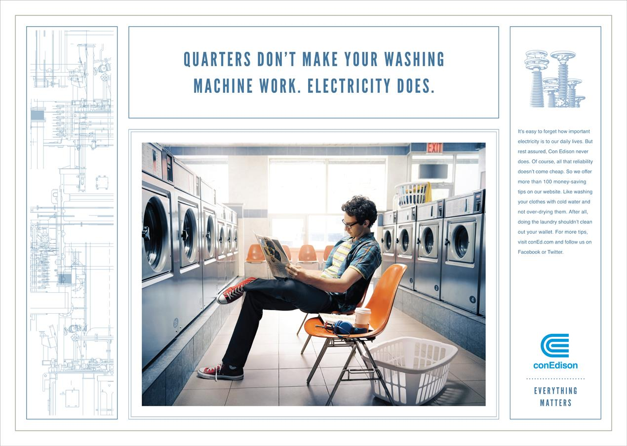 "Con Edison: ""Laundromat"" OOH"