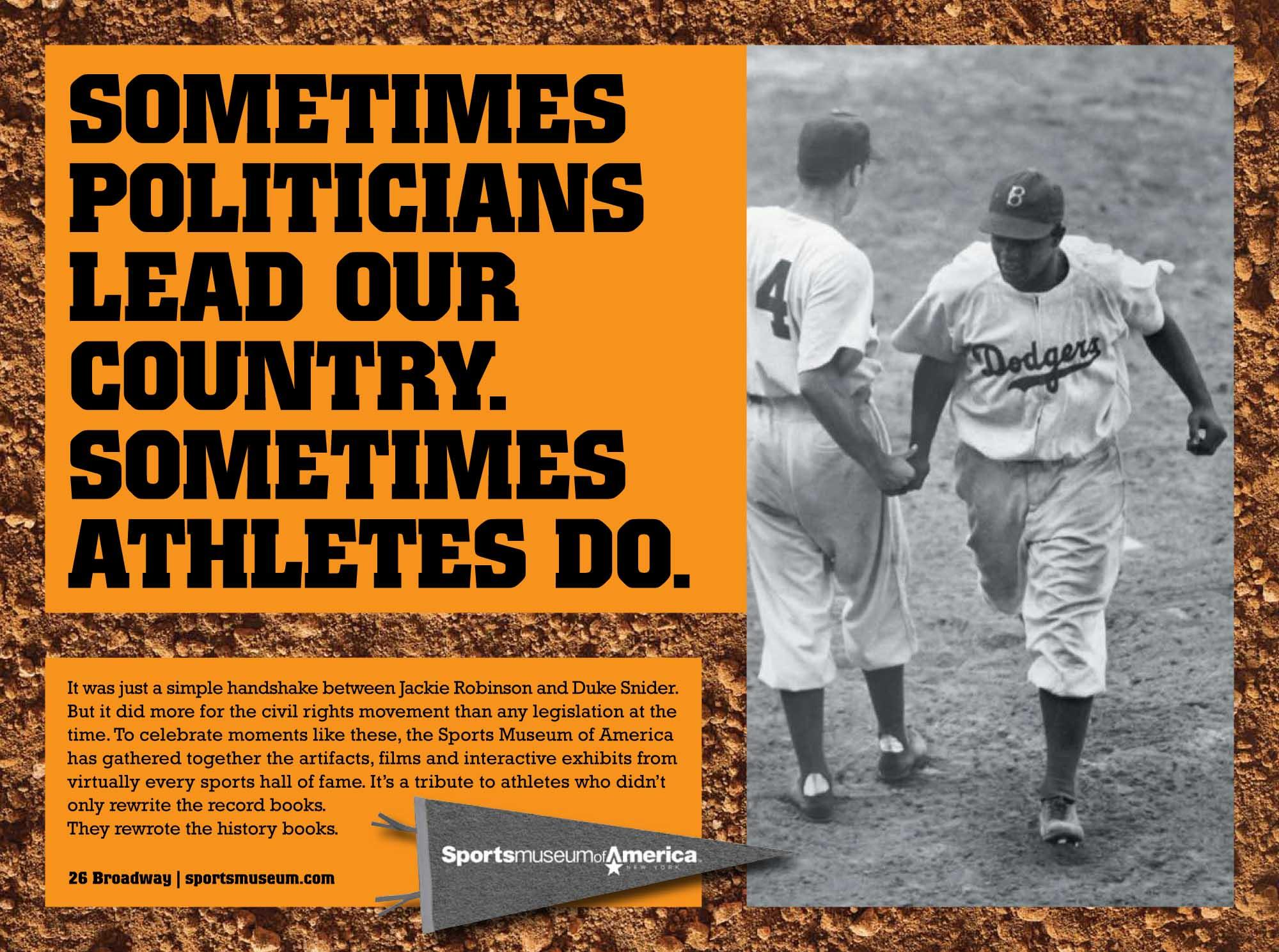 "Sports Museum of America: ""Jackie Robinson"" OOH"