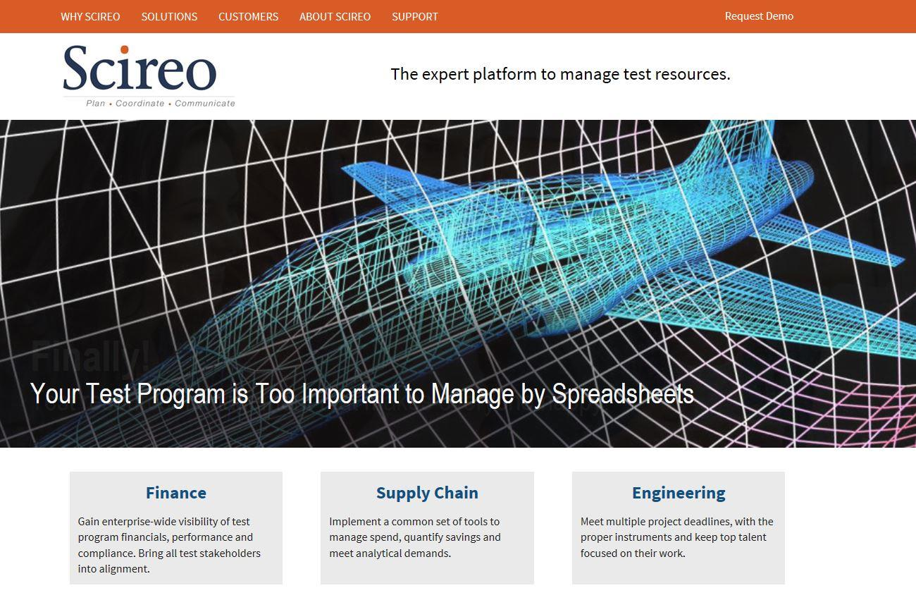 Scireo Corporate Identity & Website