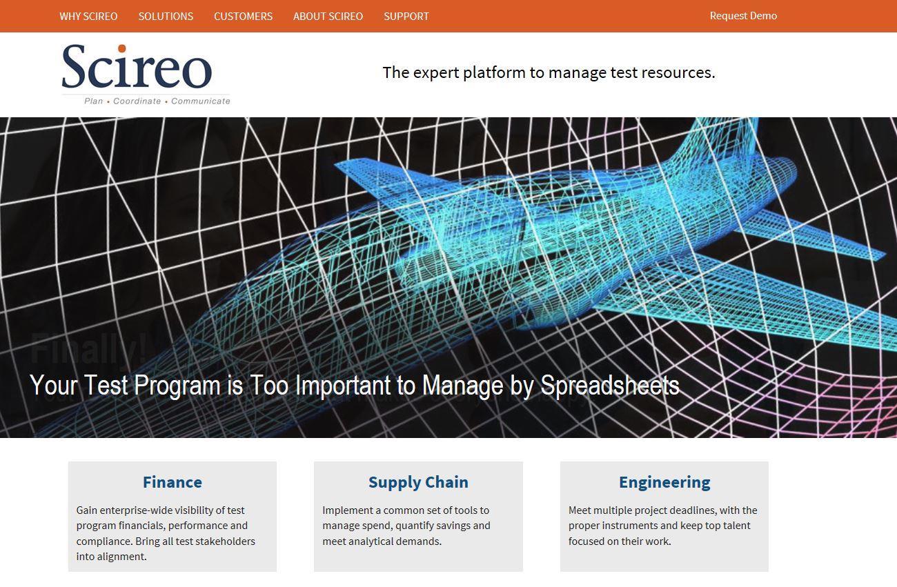 Scireo Corporate Identity & Website