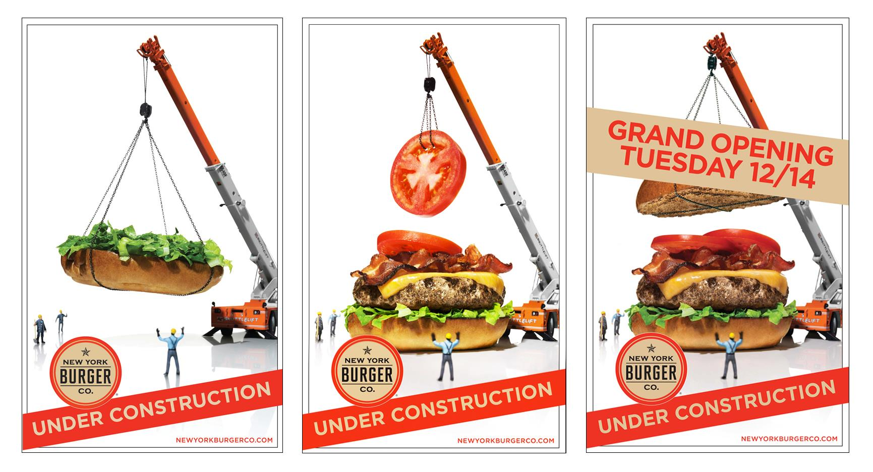 New York Burger Company - Branding & Design.