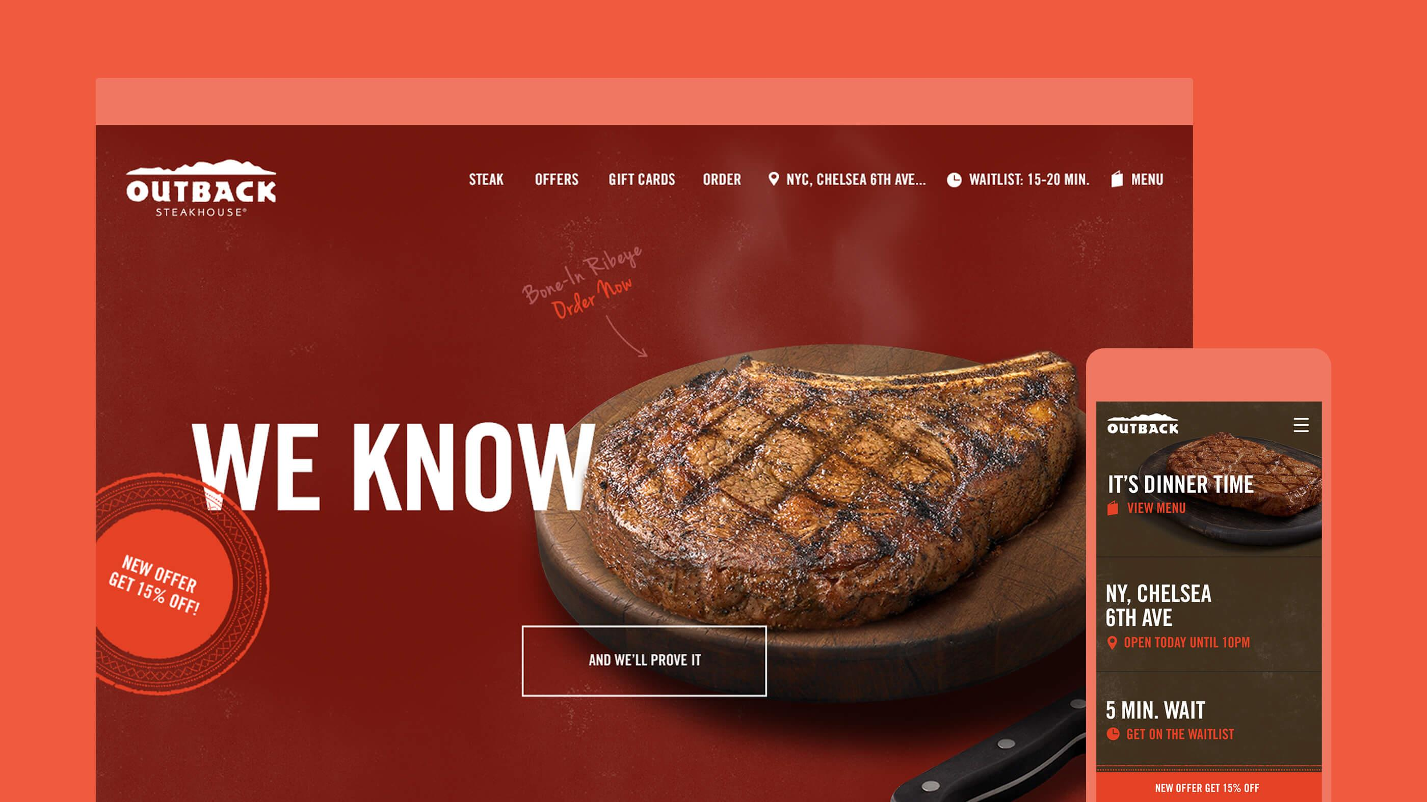outback steakhouse marketing 4ps