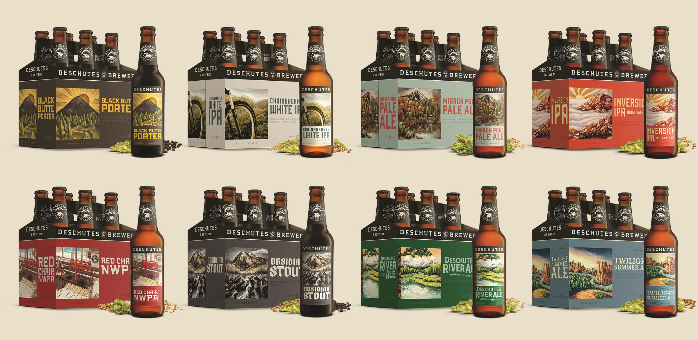 Deschutes Brewery Re-brand