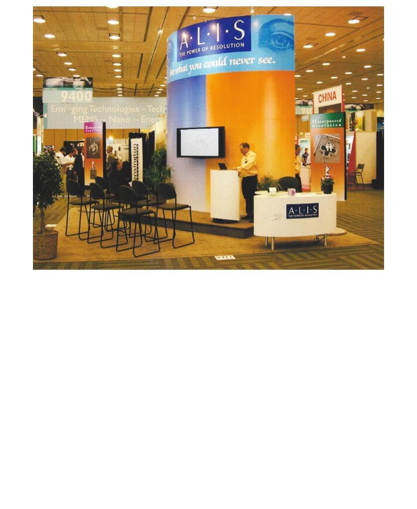 ALIS booth design