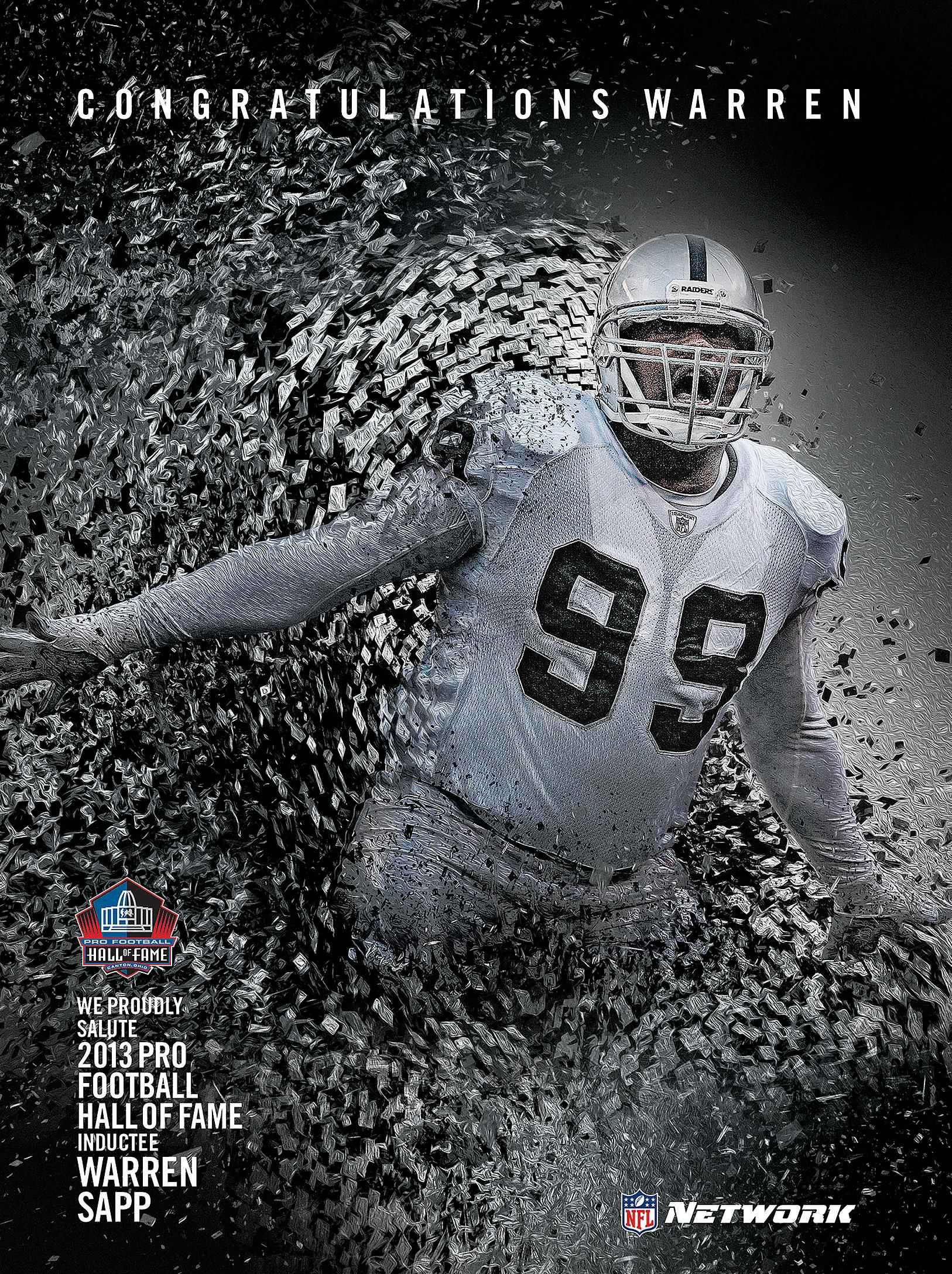 Print ad for NFL Network
