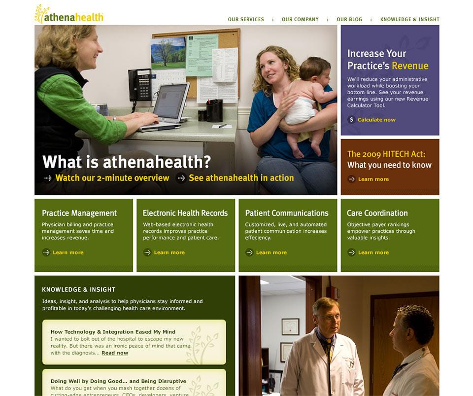 athenahealth Website