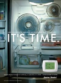 Fan in Fridge
