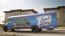 Driving Healthy Habits Home with Lysol