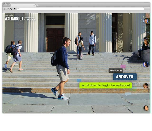 Phillips Andover: An Interactive Stroll Through Campus Life