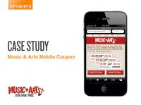 Music & Arts Mobile Couponing Case Study