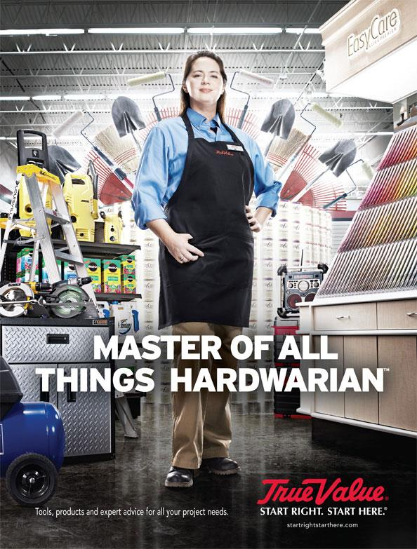 True Value Hardware: Master Of All Things Hardwarian/Sheepish