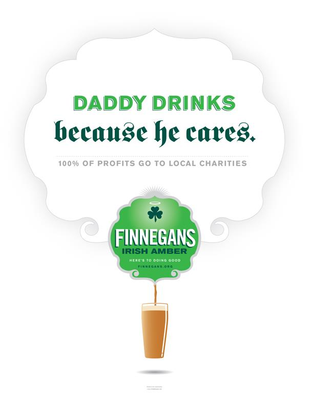 Daddy Drinks Poster/Print