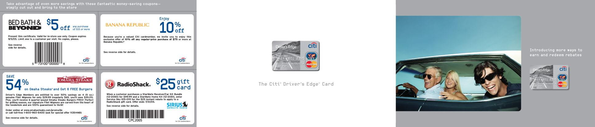 Citi Coupons