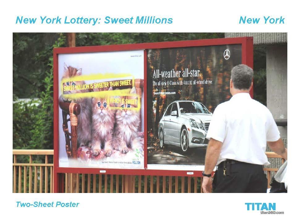 Sweet Millions OOH 1