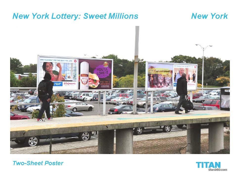 Sweet Millions OOH 3