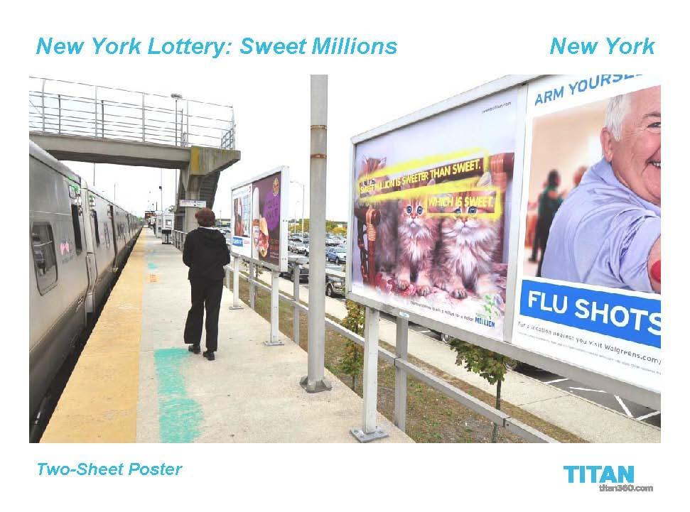 Sweet Millions OOH 4