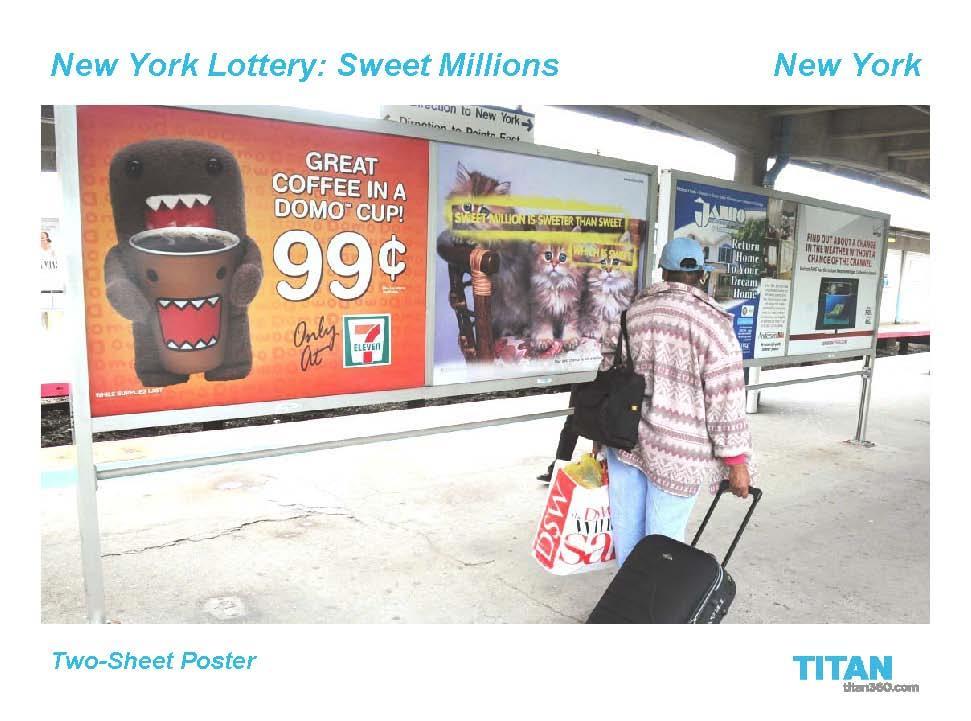 Sweet Millions OOH 7