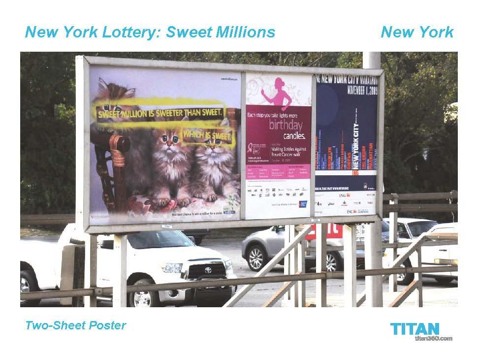 Sweet Millions OOH 8