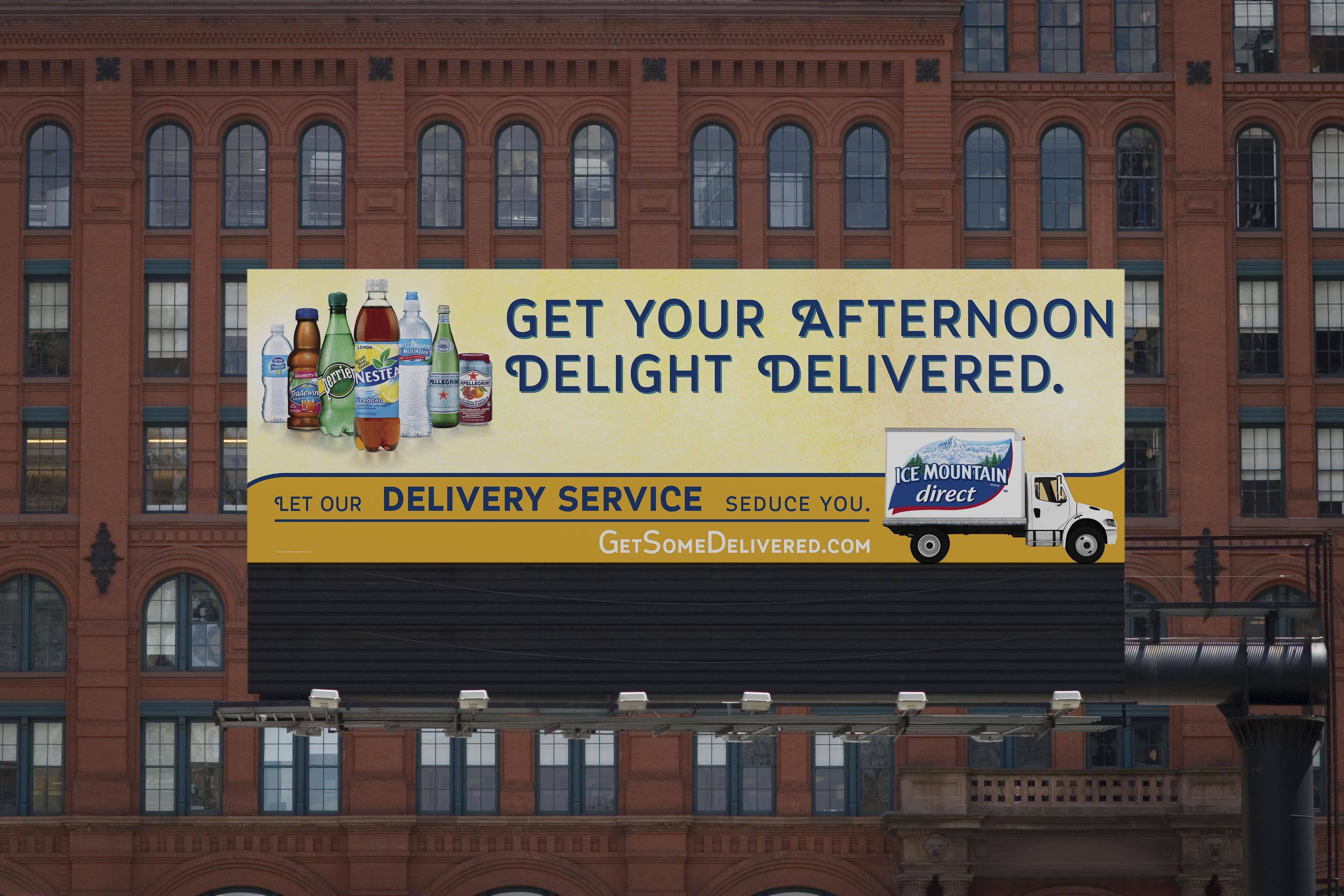 Get Your Afternoon Delight Delivered Billboard