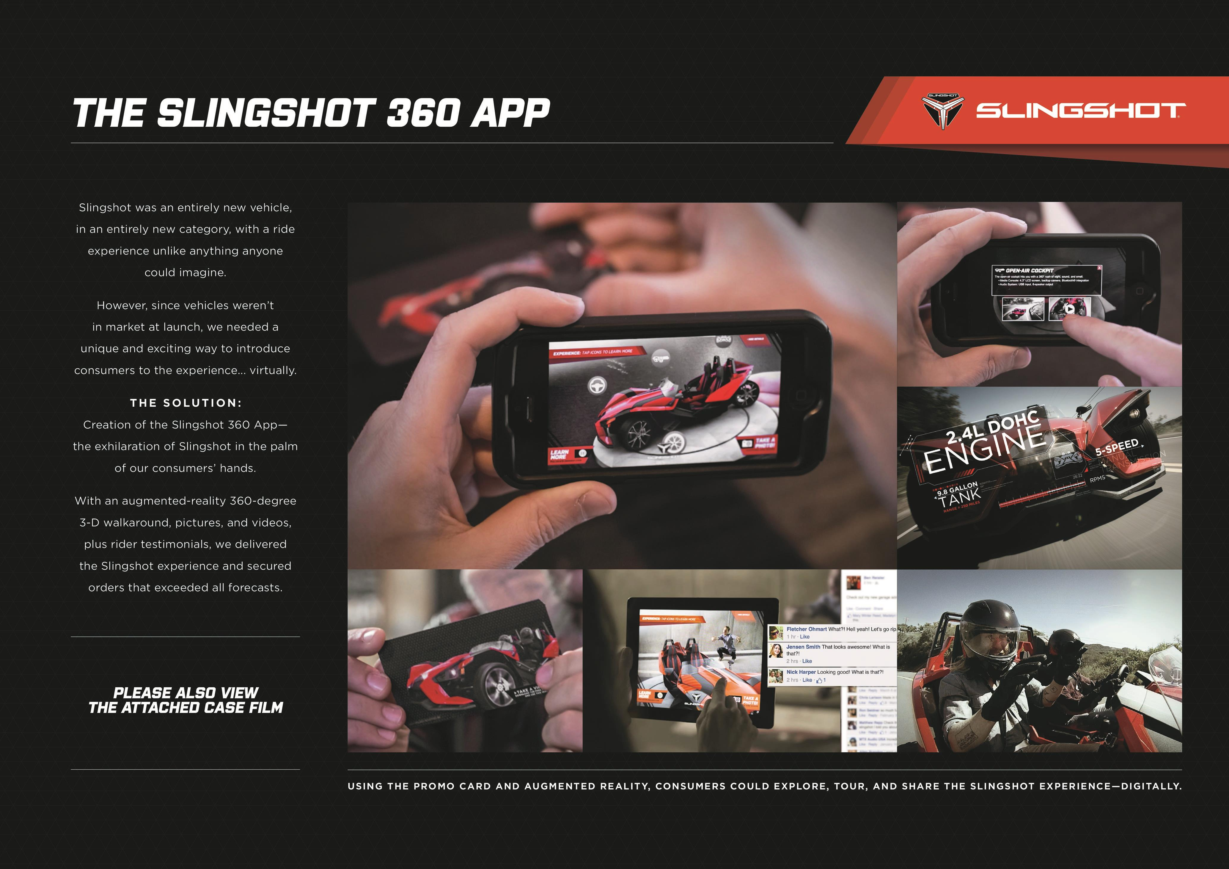 Slingshot Mobile App