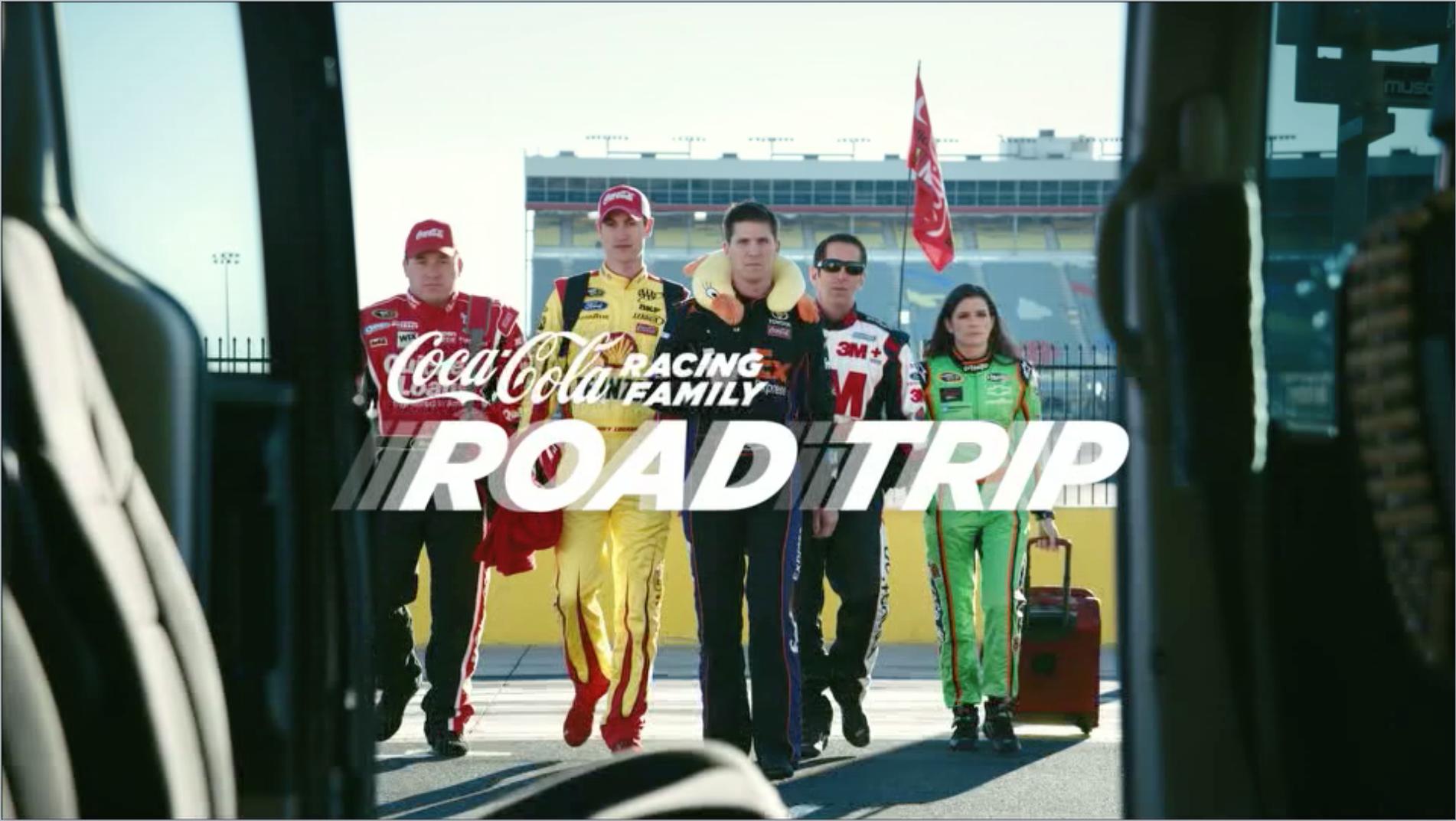 Coke NASCAR - Road Trip